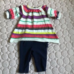 Old Navy Sweater dress & pants outfit